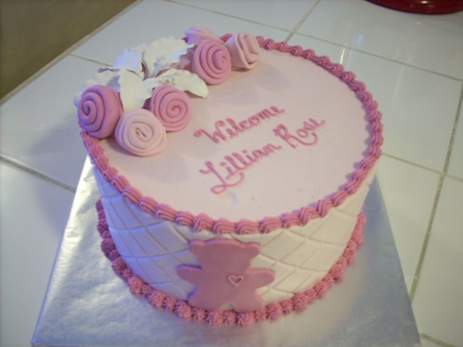 Lily And Rose Baby Shower on Cake Central