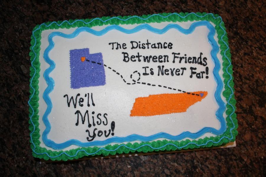 Going Away Cake Recipes