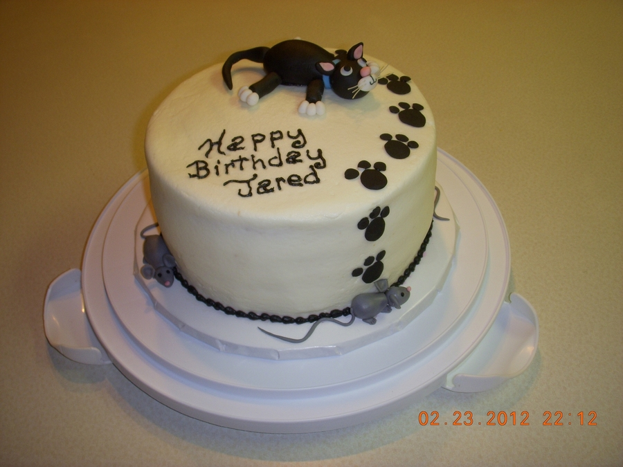 Kitty And Mice on Cake Central