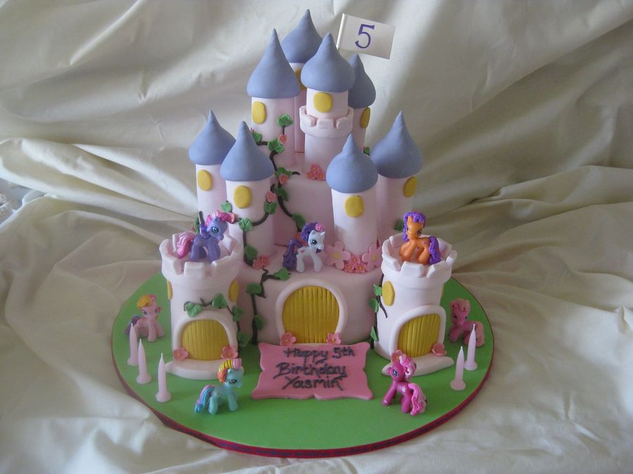 My Little Pony Castle Cake Cakecentral Com
