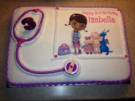 Astonishing Doc Mcstuffins Birthday Cake Cakecentral Com Funny Birthday Cards Online Inifodamsfinfo