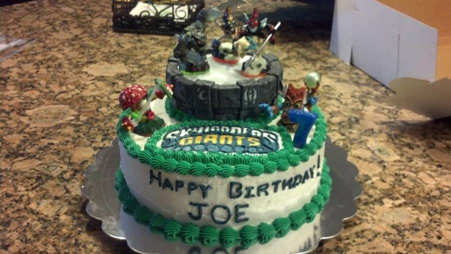 Skylanders Cake Figures Are Toys Skylander Logo Is Frozen