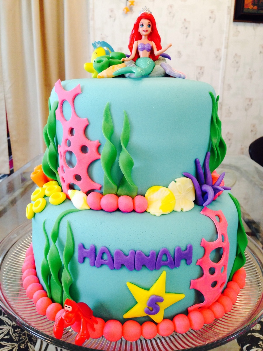 Ariel Little Mermaid Cake Ideas