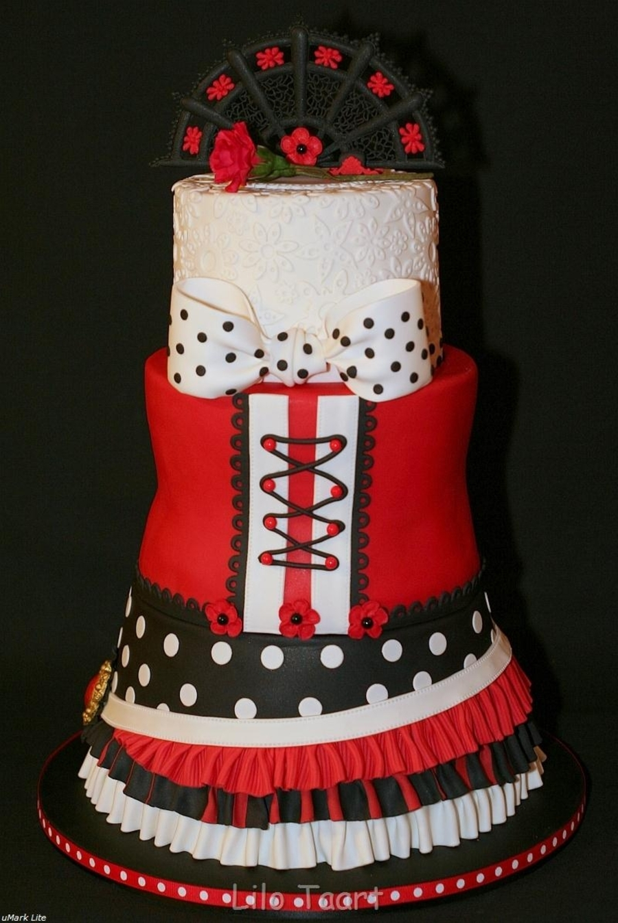 My Flamenco Cake  on Cake Central