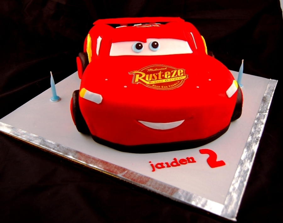 Lightning Mcqueen Car on Cake Central