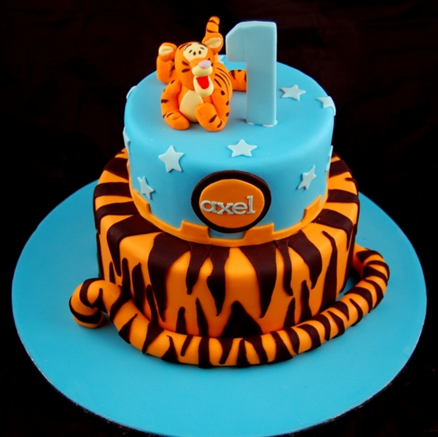 Tiger Birthday Cake Recipe