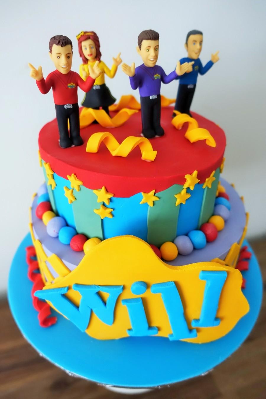Wills Wiggles Cake CakeCentralcom