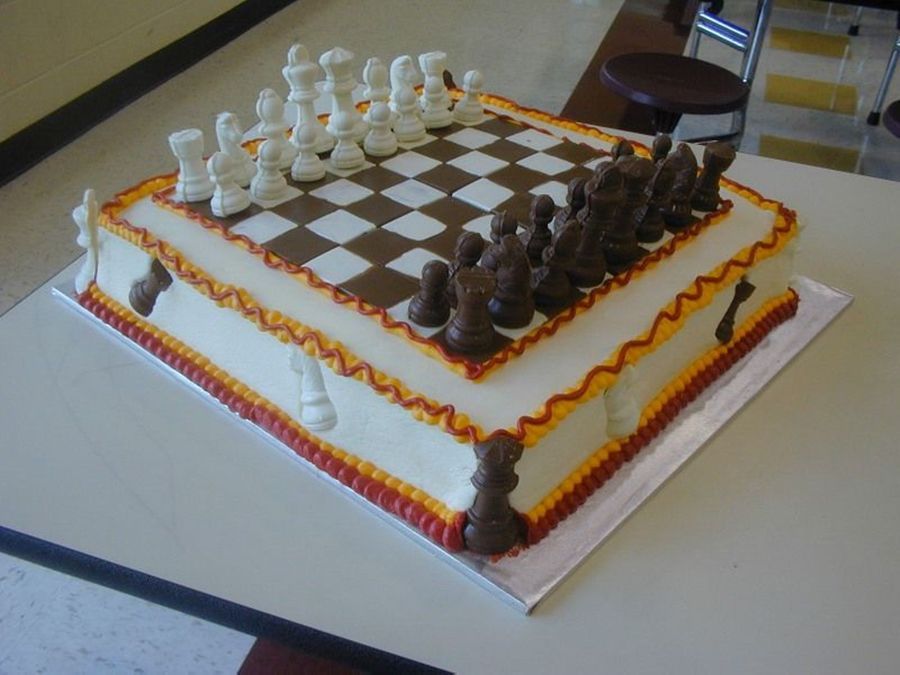Chess Club End-Of-Year Party on Cake Central