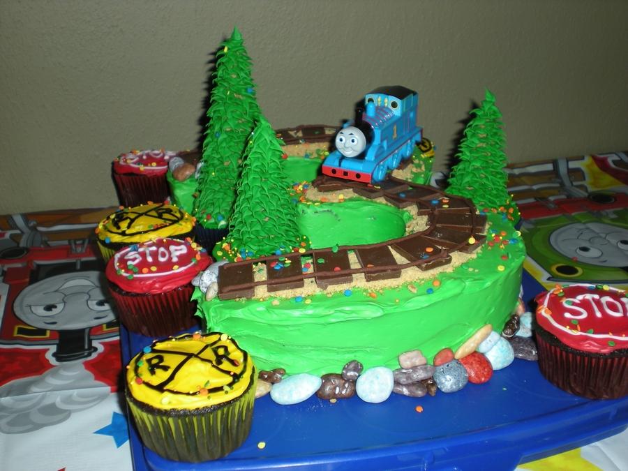 Thomas The Train 3 Birthday Cake CakeCentralcom