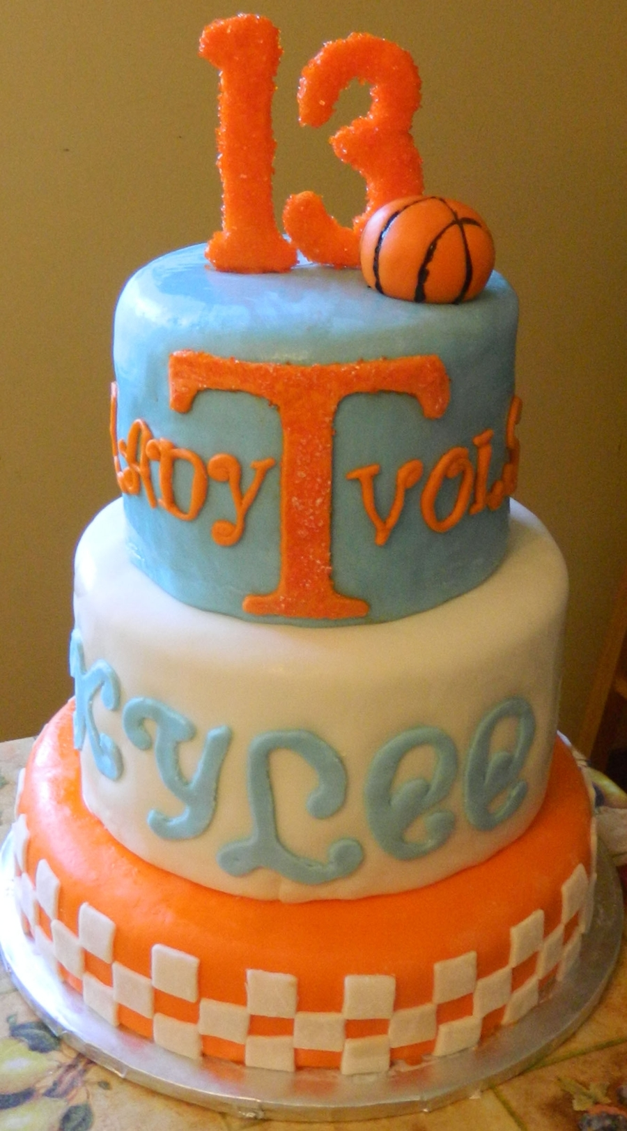 Lady Vols Cake on Cake Central