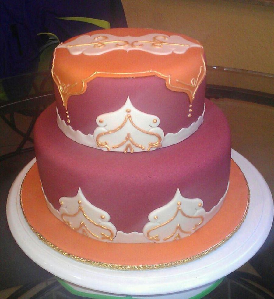 Moroccan Themed Cake on Cake Central