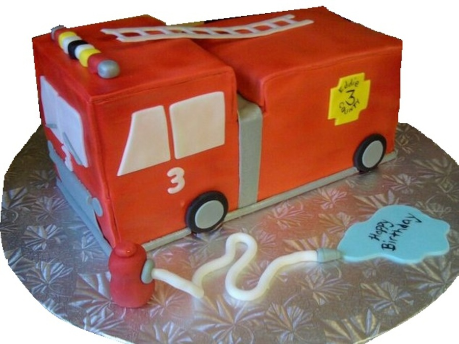 Fire Truck on Cake Central