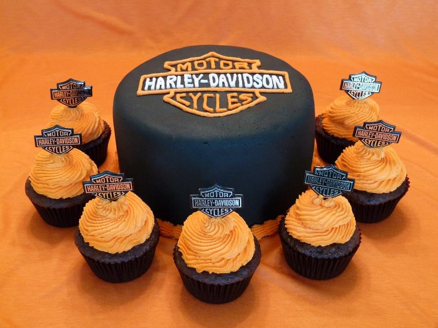 Harley Davidson Graduation Cake Cakecentral Com