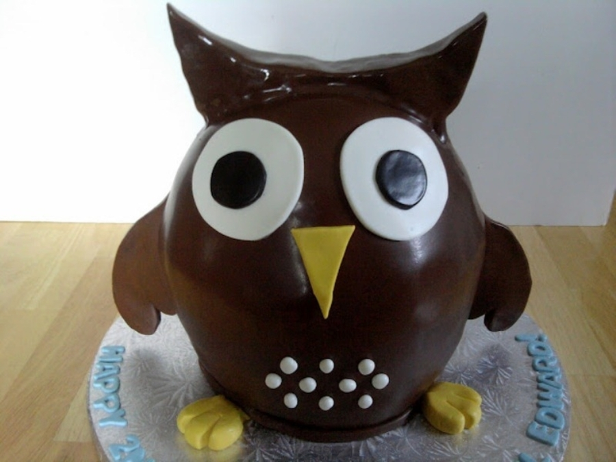 Owl on Cake Central