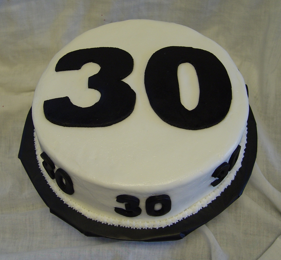 The Big 30 Cake on Cake Central