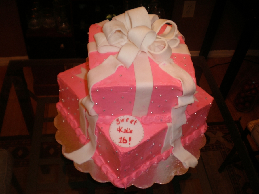 Pink Sweet 16 on Cake Central