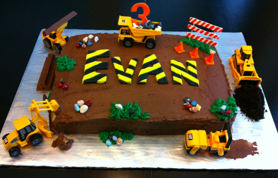 Construction Cake on Cake Central