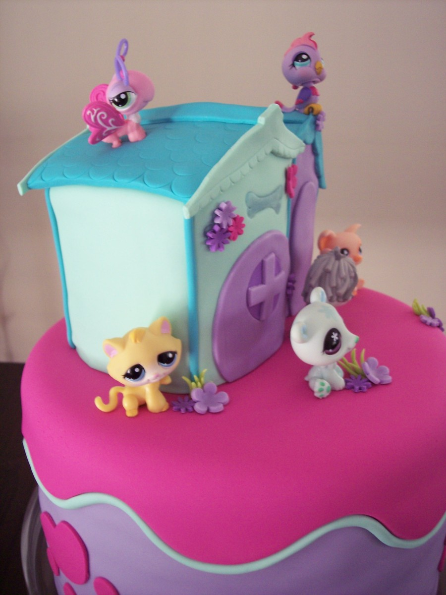 My Littlest Pet Shop Birthday Cakes