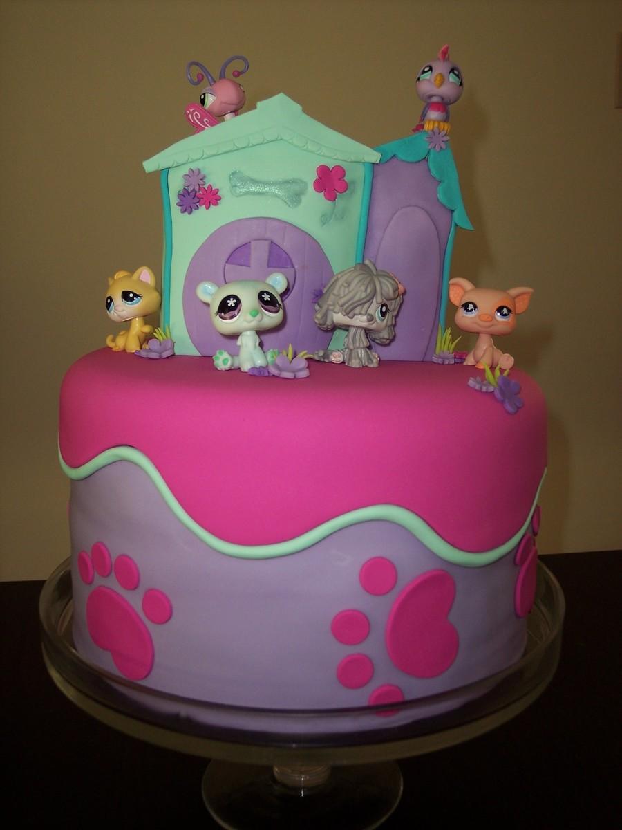 Little Pet Shop Cake Designs