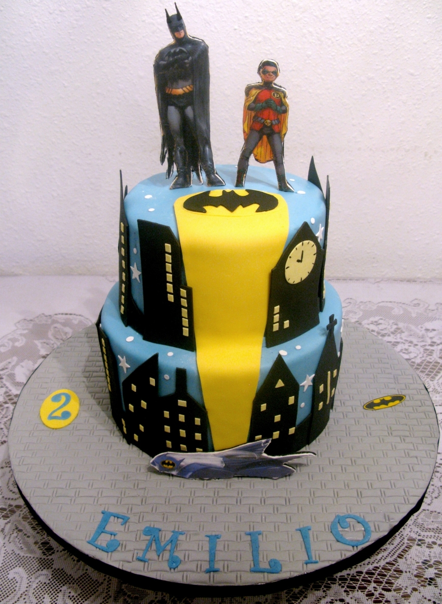 Batman And Robin Cakecentral Com