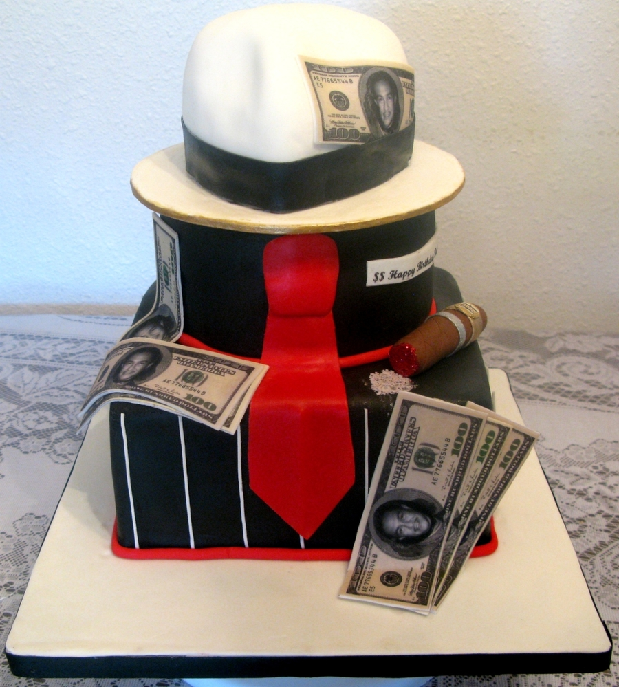 Another Sopranos Gangster Cake Cakecentral Com