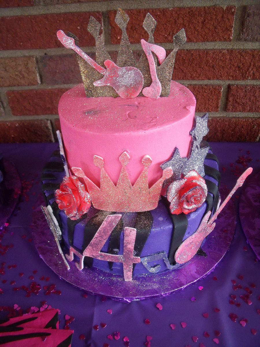 Rock Princess Cake  on Cake Central