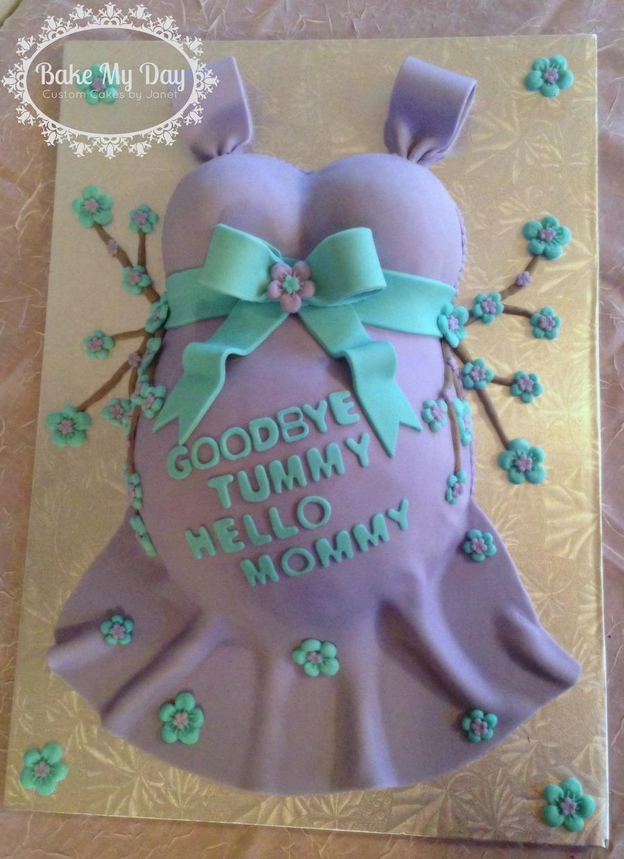 Baby Bump Cake Cakecentral Com