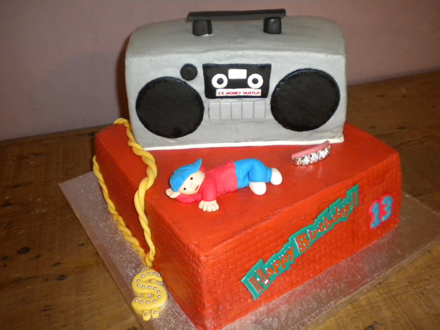 Awe Inspiring Hip Hop Birthday Cakecentral Com Funny Birthday Cards Online Inifodamsfinfo