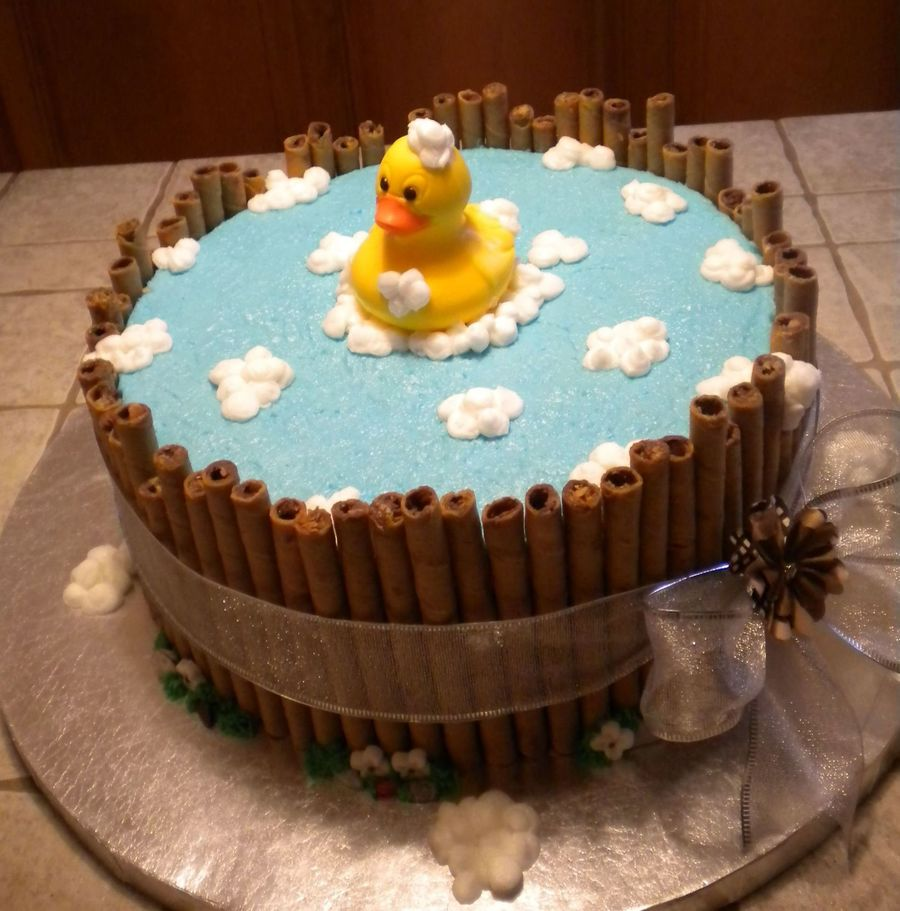 Baby Duckie - CakeCentral.com