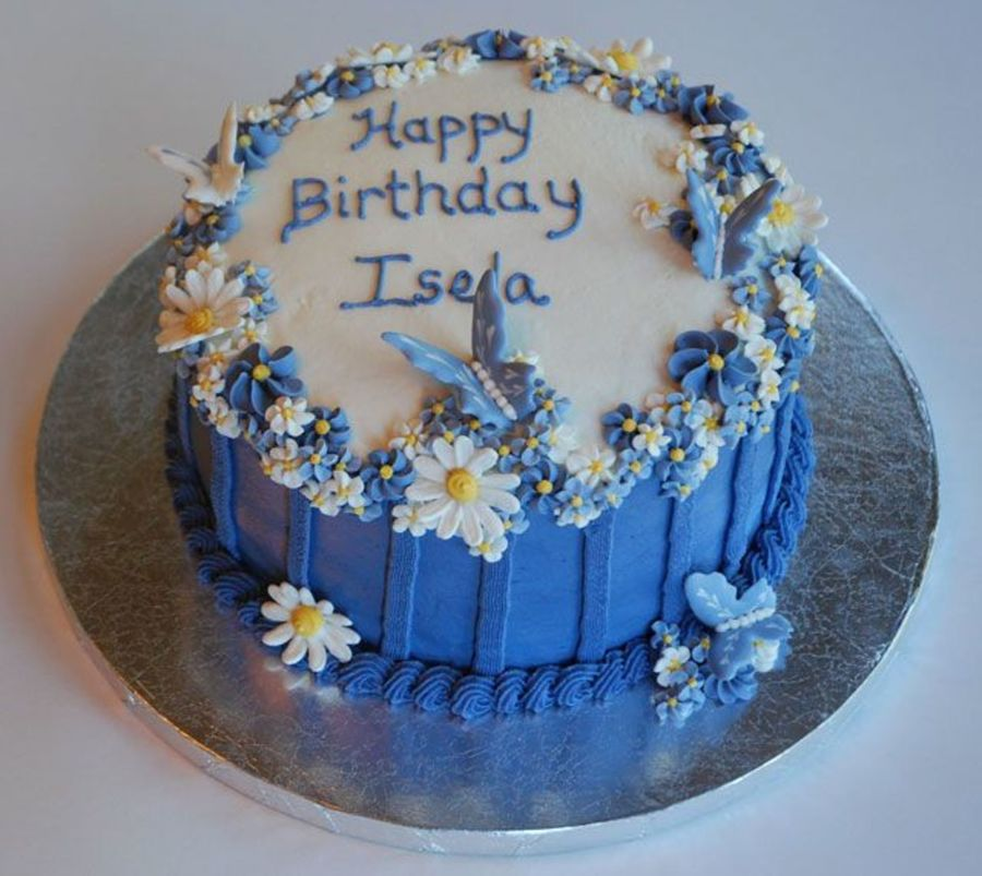 Iselabdaycake.jpg  on Cake Central