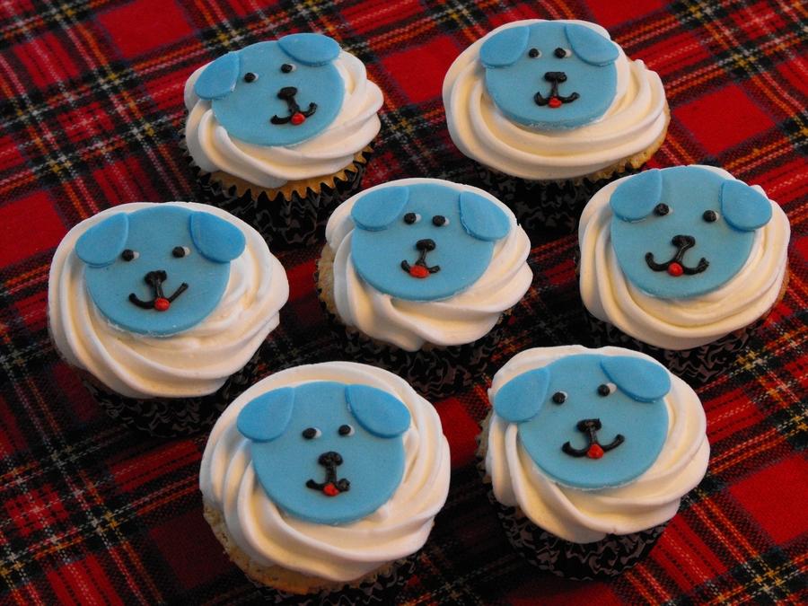 Blue Puppy Cupcakes Cakecentral Com