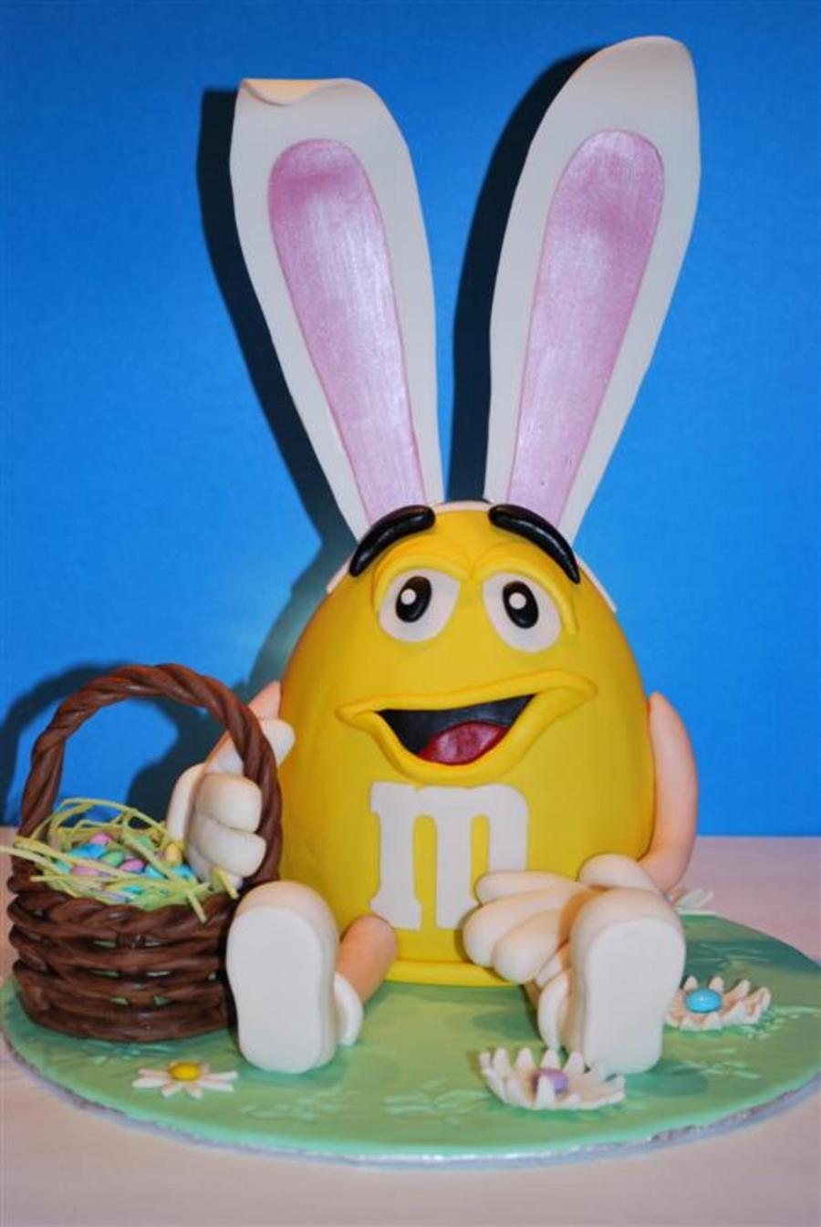 Easter M&m Character on Cake Central