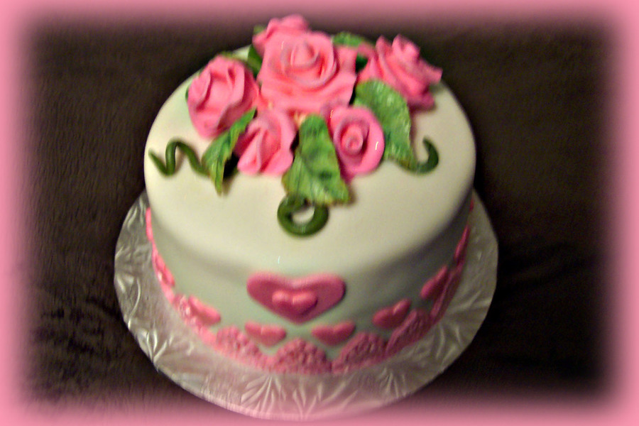 Birthday Cake For My Favourite Aunt Cakecentral Com