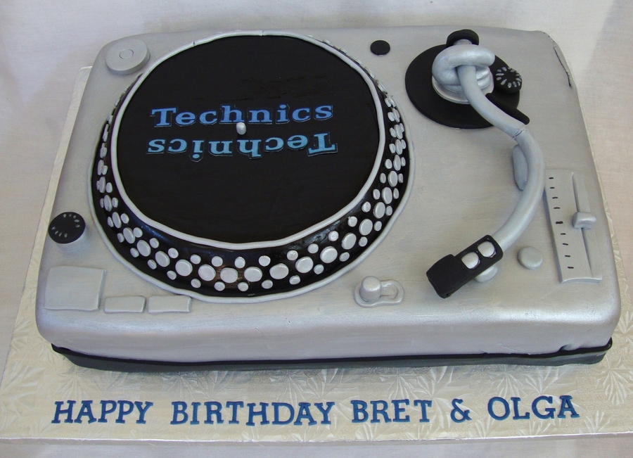 Technics Turntable  on Cake Central