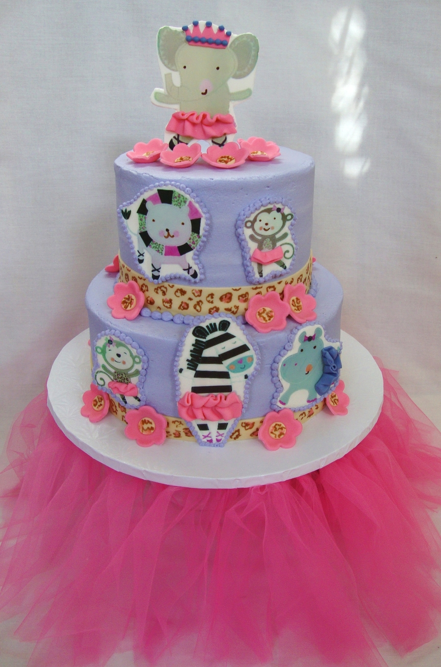 tutu cute baby shower cake