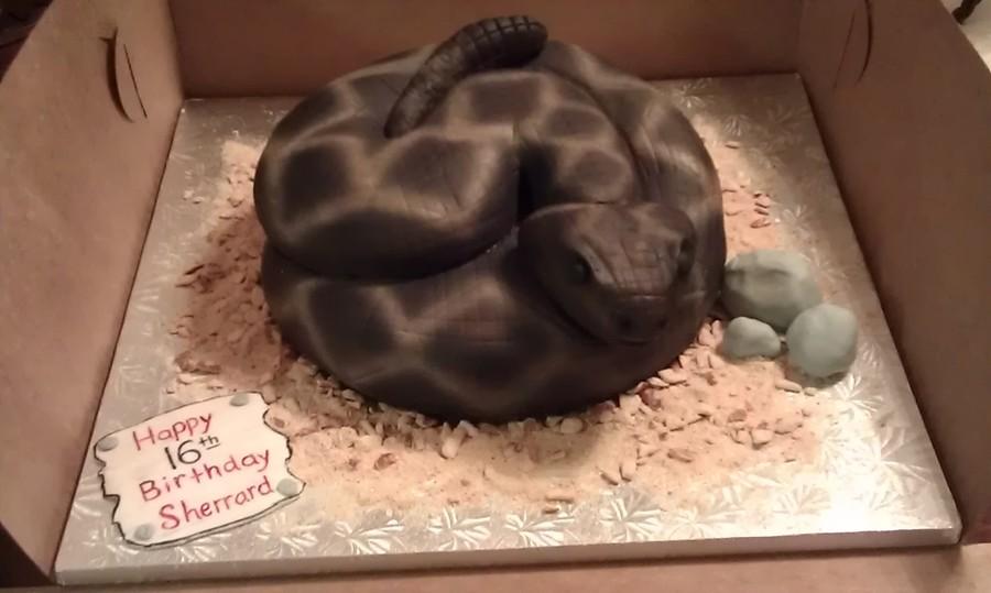 Rattle Snake Cake Cakecentral Com