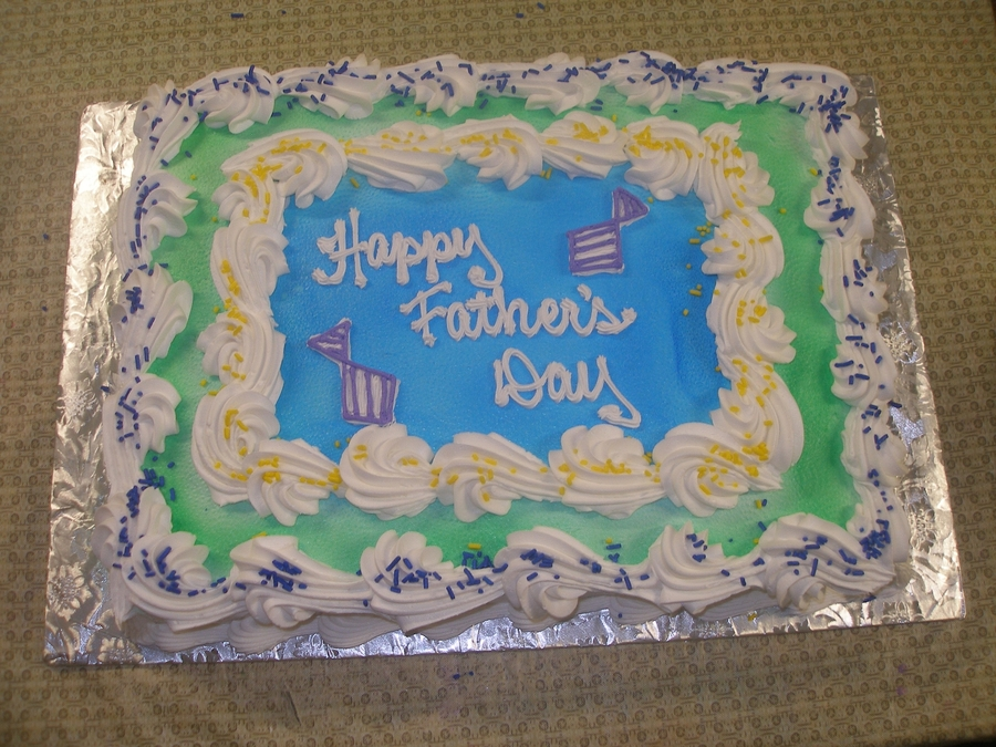 Happy Father's Day on Cake Central