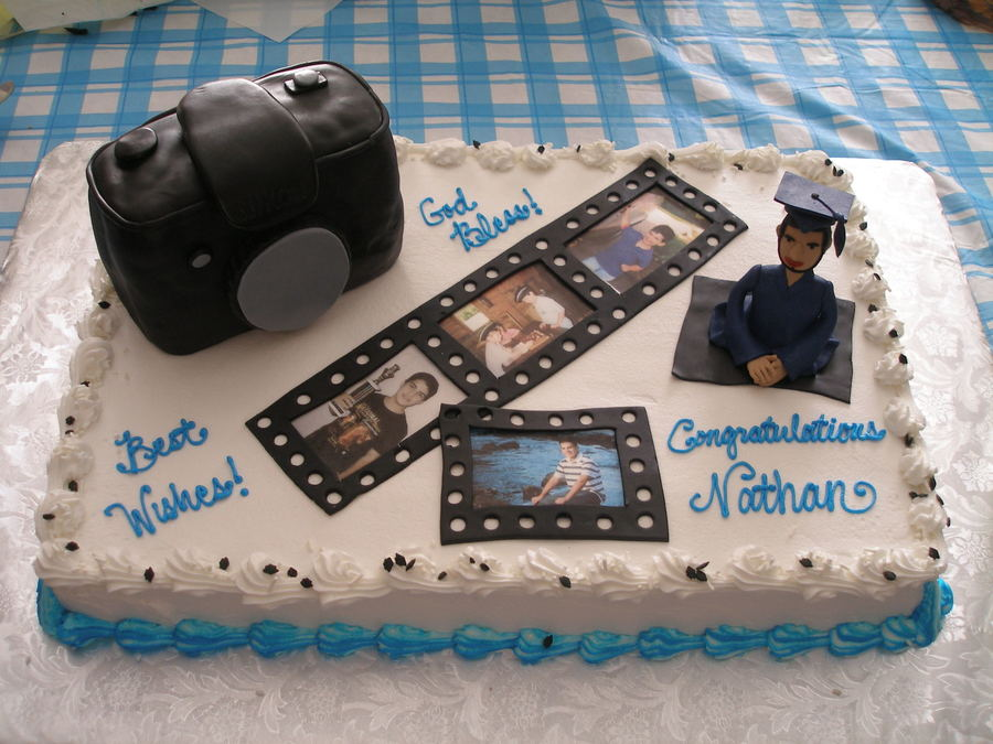 Photo Graduation on Cake Central