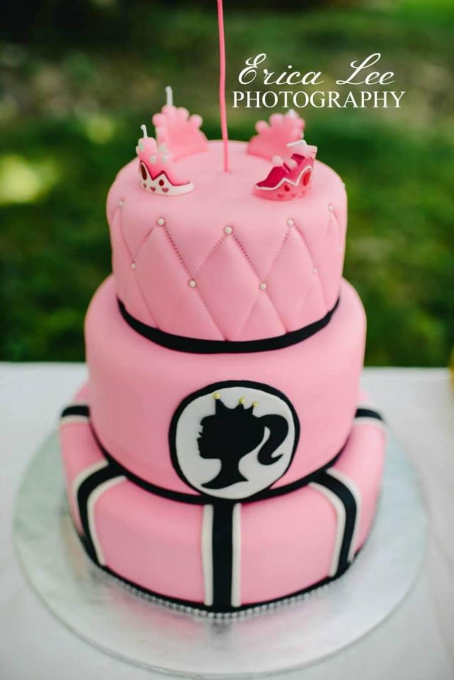 Princess Barbie Silhouette Cake Cakecentral Com
