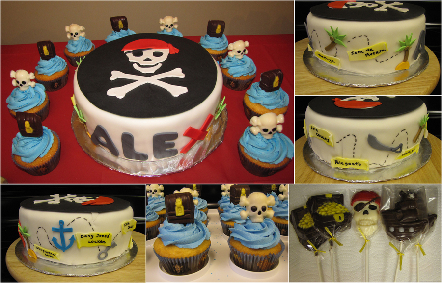 Pirates Of The Caribbean Cake on Cake Central