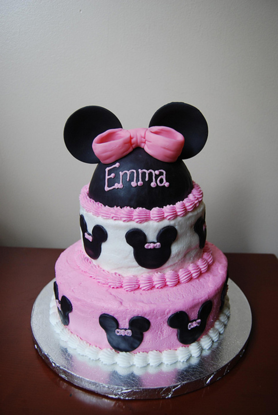 Minnie Birthday Cake on Cake Central