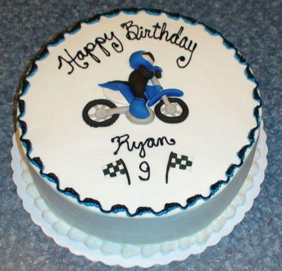 Pleasant Motocross Birthday Cake Cakecentral Com Birthday Cards Printable Trancafe Filternl