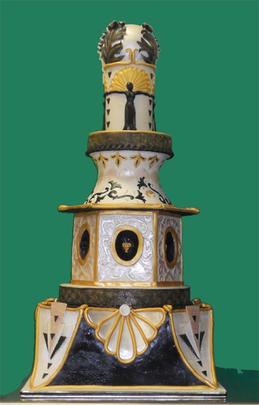 Art Deco Cake on Cake Central