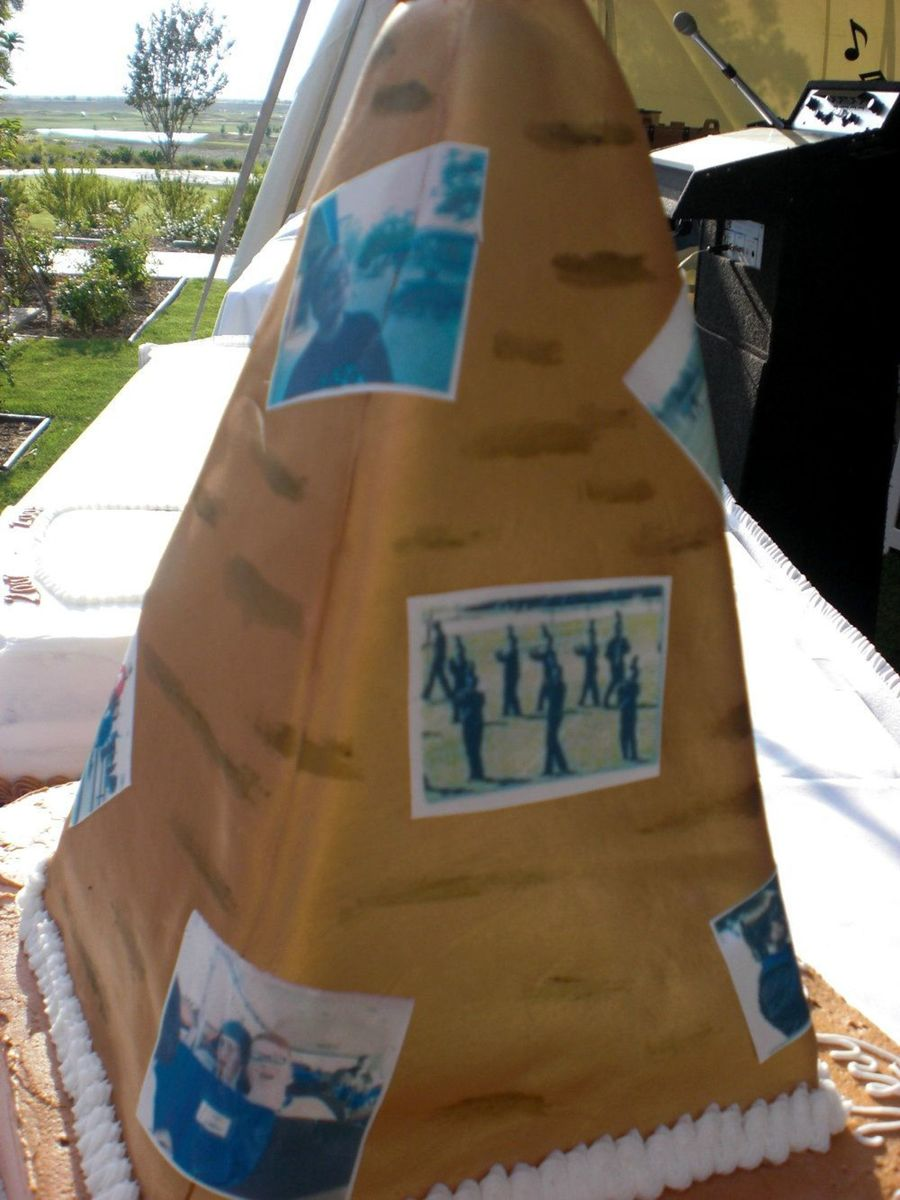 Band Pyramid Of Egypt Cake on Cake Central