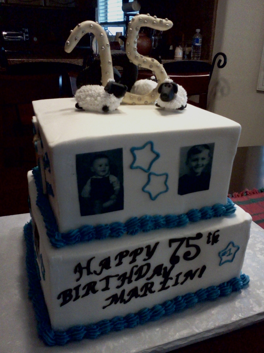70Th Birthday Cake on Cake Central