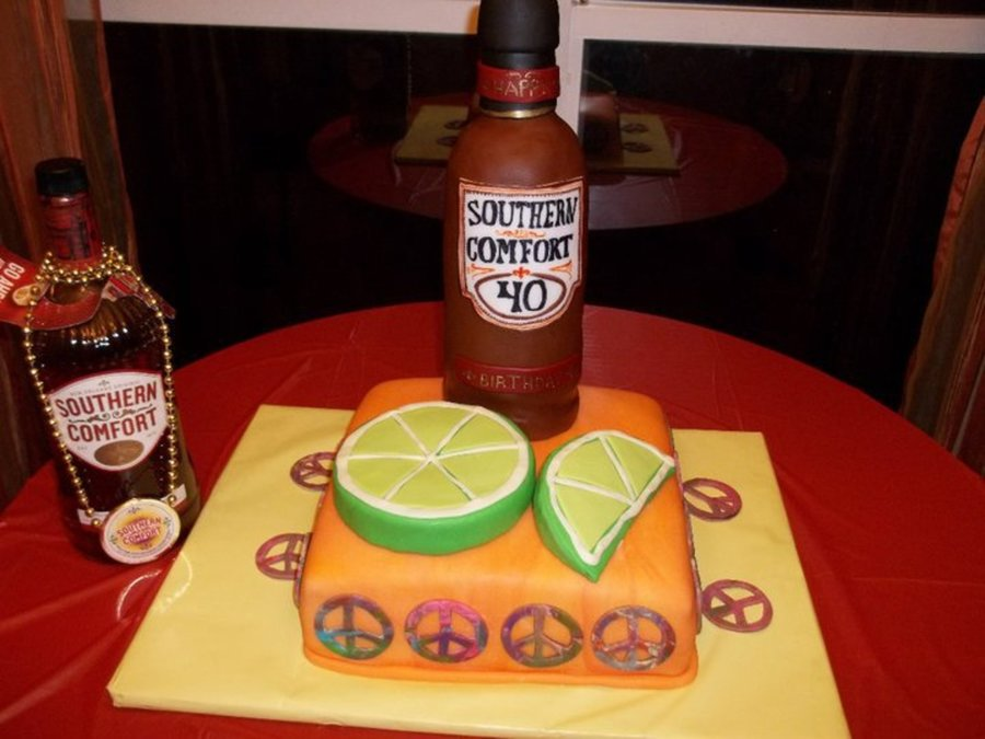 Southern Comfort So-Co W/ Lime on Cake Central