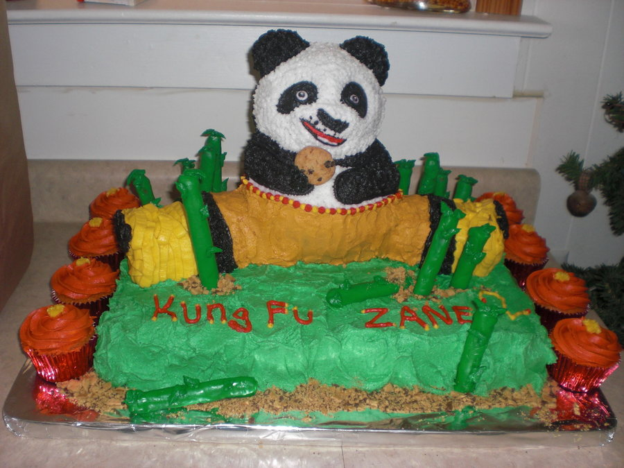 Strange Kung Fu Panda Cakecentral Com Funny Birthday Cards Online Elaedamsfinfo
