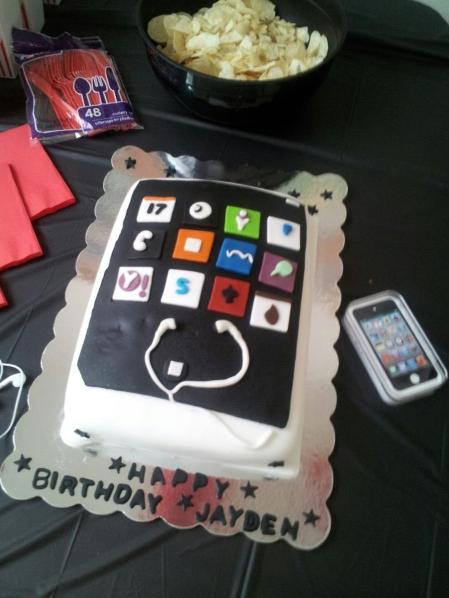 Ipod Cake on Cake Central
