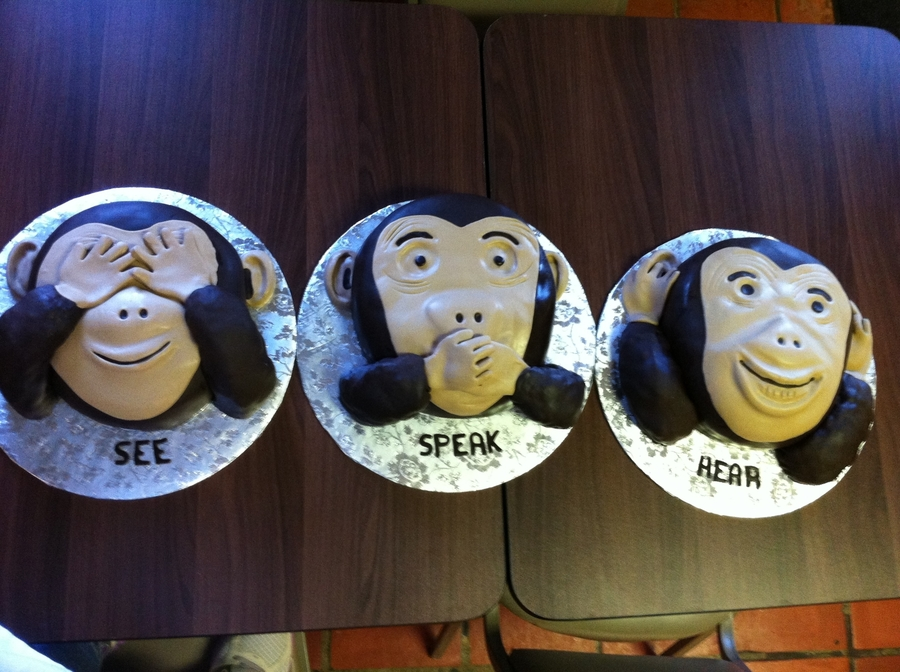 See Speak Hear on Cake Central