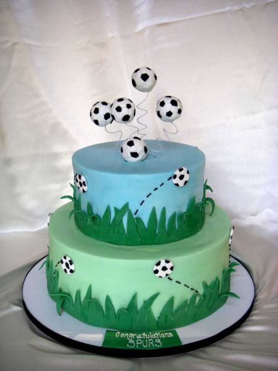 Soccer Team Cake on Cake Central